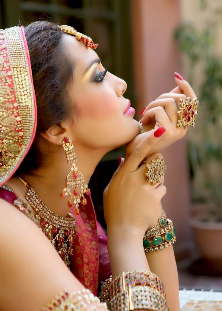 Bridal Jewellery Collection 2014 15 For Girls By Keepsakes By Reem