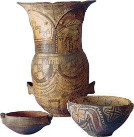 Cultura  Aymara - Vasijas