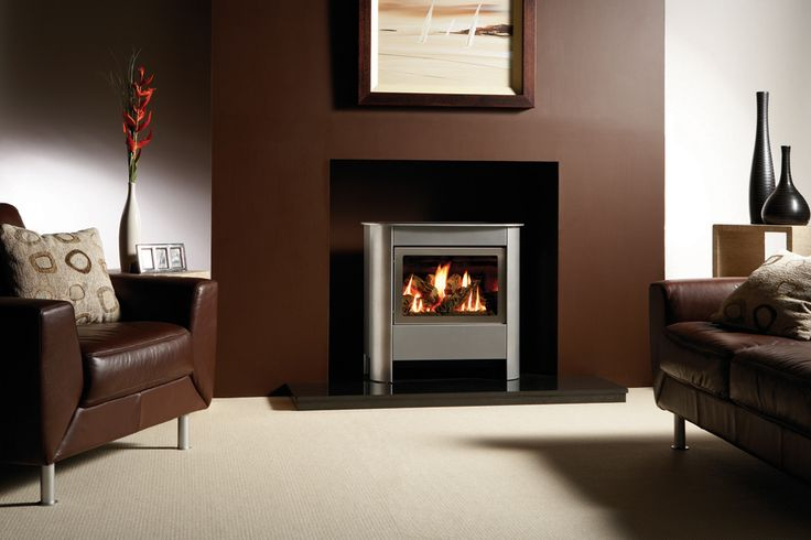 Steel Manhattan Gas Stoves - Gazco Contemporary Stoves