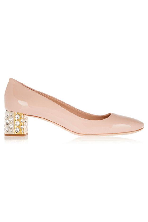 15 zapatos de tacón midi   Grazia