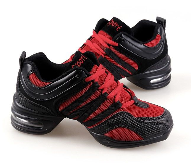 Hot Fashion Lady Jazz Hip Hop Shoes Practice Dancewear Sneakers Dance Shoes #zl