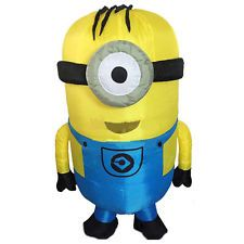 Adult Inflatable Despicable Me Minions Fancy Dress Costume Minions Funny Costume