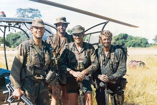 "The numbers of men in the SAS went up to approximately 250 when in June 1978 ""C"" Squadron (Rhodesian) Special Air Service became 1 (Rhodesian) Special Air Service Regiment."