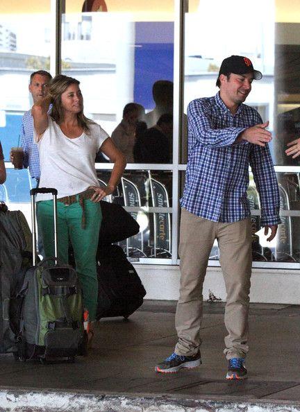 Jimmy Fallon Photo - Jimmy Fallon and Nancy Juvonen Arrive at LAX