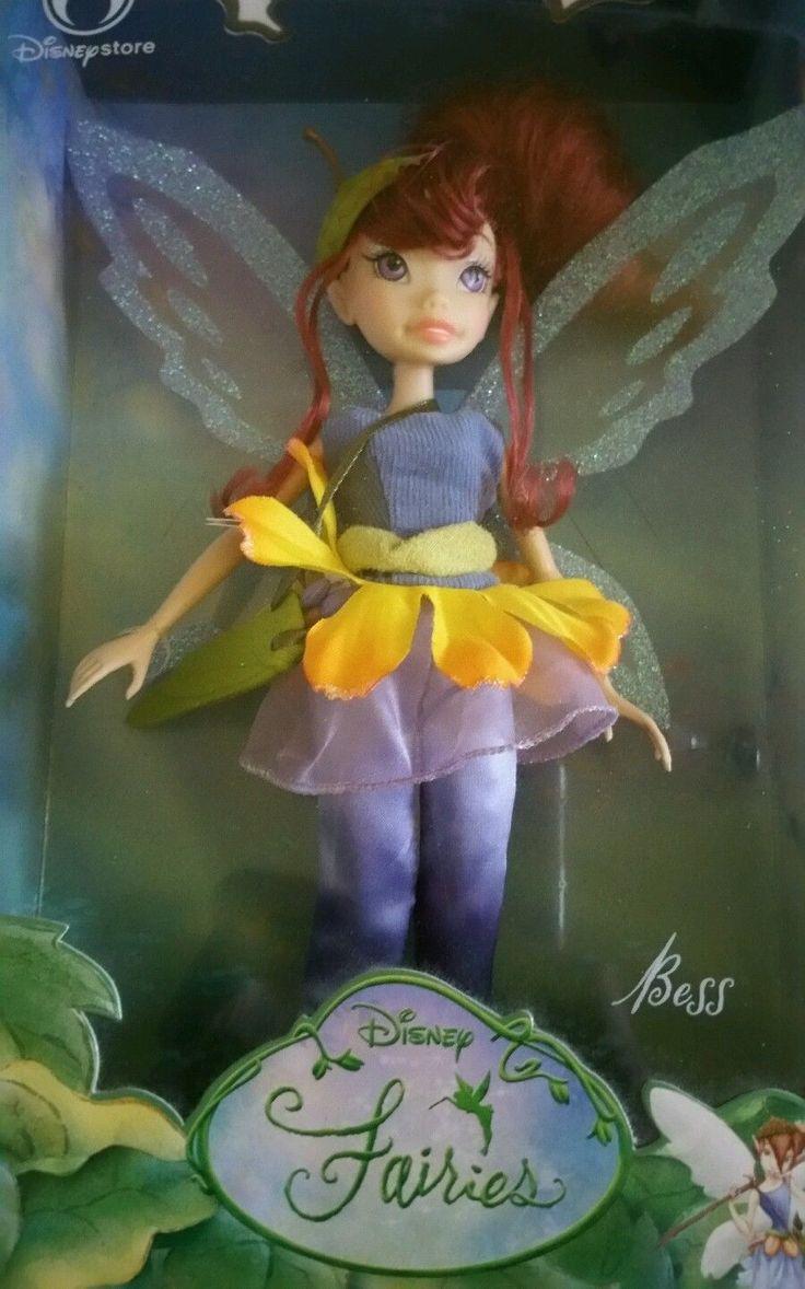 Disney Fairies Bess Doll (Disney Store) *NEW* | eBay ...