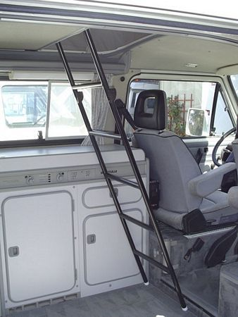 Upper Bunk Ladder [Vanagon/Eurovan] - GoWesty Camper Products - parts supplier for VW Vanagon, Eurovan, and Bus
