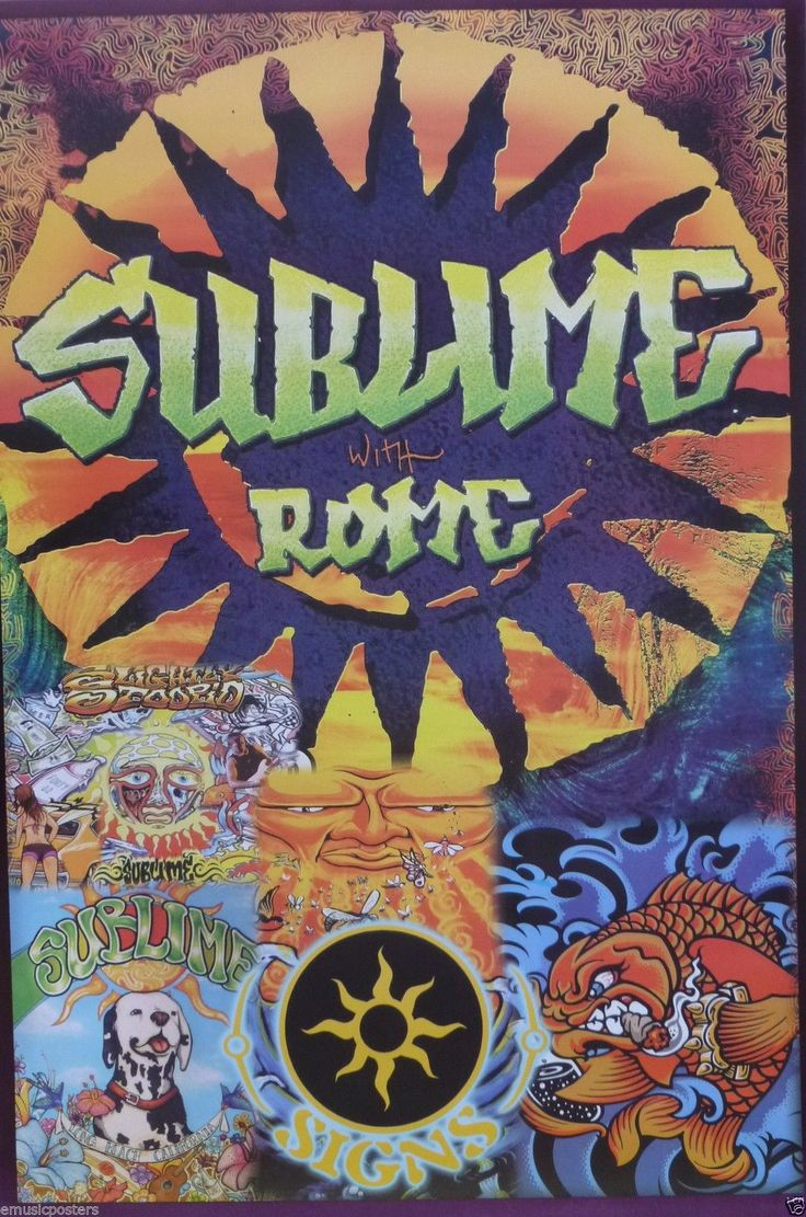 Sublime with Rome 034 Album Cover Artwork 034 Poster from Asia Ska ...