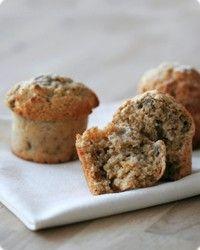 Bananmuffins, et glimrende alternativ til barneselskap. Og samtidig veldig godt for store kake-elskere.