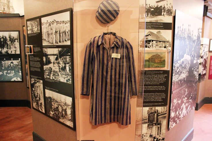 """The Breman Museum exhibit, """"Absence of Humanity: The Holocaust Years, 1933-1945,"""" which is on permanent display and designed by Holocaust survivor, Benjamin Hirsch."""