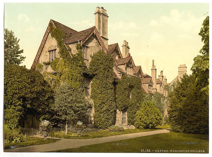 [Worcester College, Oxford, England] | Library of Congress