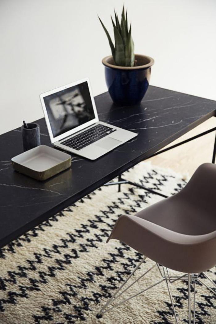tapis marocain pour l'office à la maison