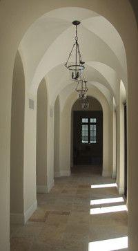 55 Palm - mediterranean - hall - miami - Jarosz Architect, P.A.