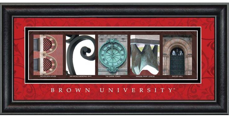 Brown University Campus Letter Art $48.95: Universe Campus, Decor Ideas, Letters Art, Art 48 95, Univ Campus, Last Names, Campus Letters, Letter Art