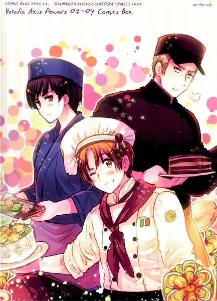 Hetalia Axis Powers~! They looks so cute!