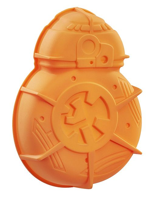 Invite BB-8 to your next party with this BB-8 silicone cake mold. He will save the galaxy (or just dessert) with the mold's non-stick properties. Beep, boop.