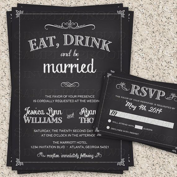 17 best images about wedding invitations on pinterest | the best, Wedding invitations