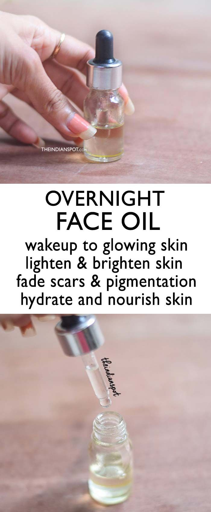 Overnight Face Oil For Brighter Glowing Skin Bright Glowing Skin Face Oil Natural Skin Care