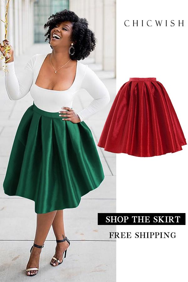 40d9b2818b Up to 30% Off. Red A-line Midi Skirt featured by shotbykma. #women #skirt  #party #christmas #holiday #outfit #clothing #winterfashion #fashion  #elegant ...