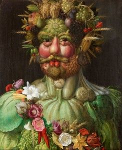 Giuseppe Arcimboldo food as art