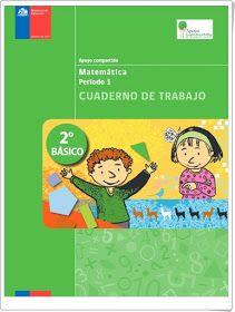 """""""Cuadernos de trabajo de Matemáticas de 2º de Primaria"""" (Ministerio de Educación de Chile)"""