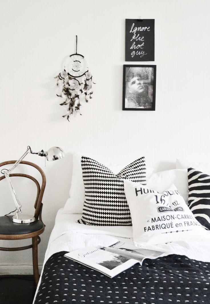 dreamcatcher + black + white + thonet + graphic Home