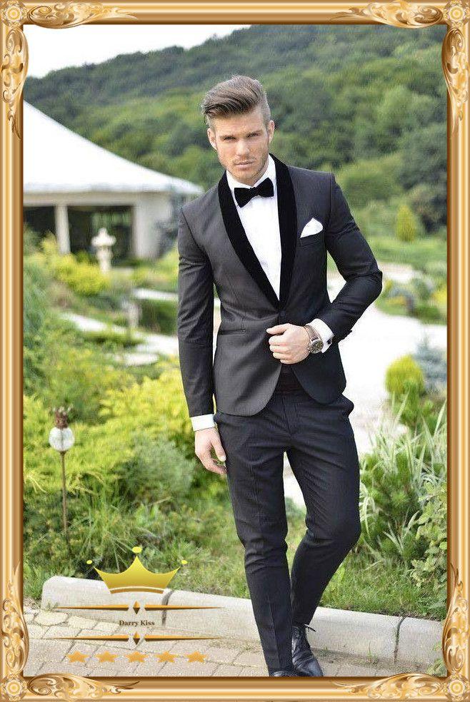 846 best tuxedos tailcoat images on pinterest men wedding suits mens black classy tuxedo junglespirit Images