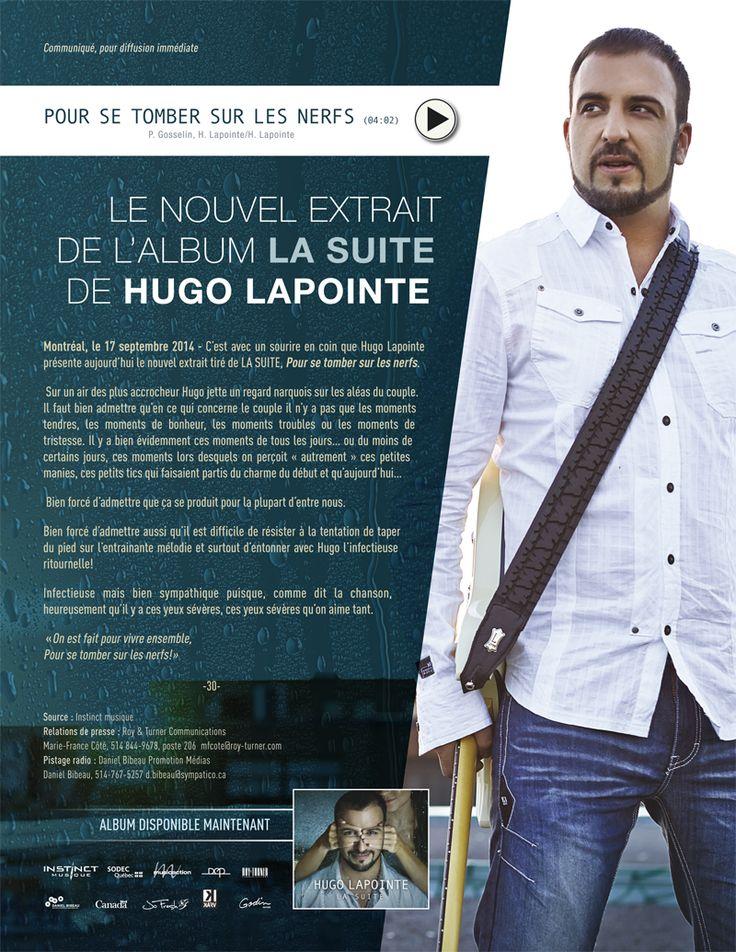 Hugo Lapointe - Pour se tomber sur les nerfs