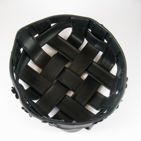 Craft Ideas For Bicycle Inner Tubes