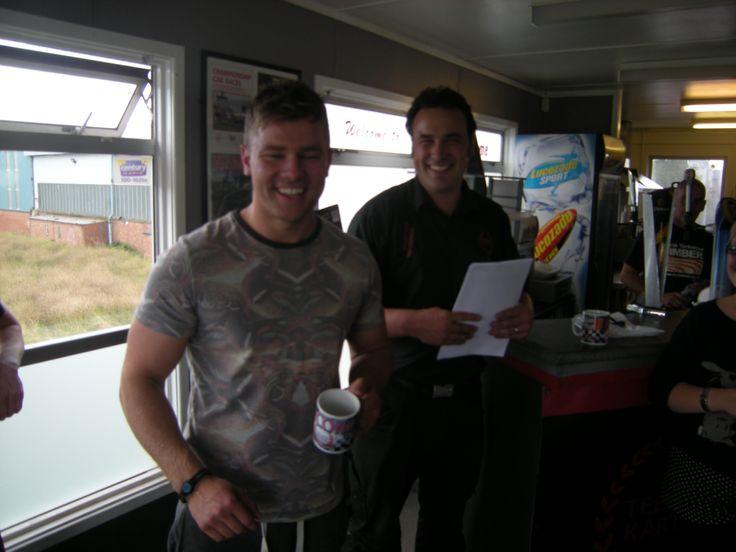 REHAU Racing winners - 2013 Ecologic living won the driving experience of a lifetime