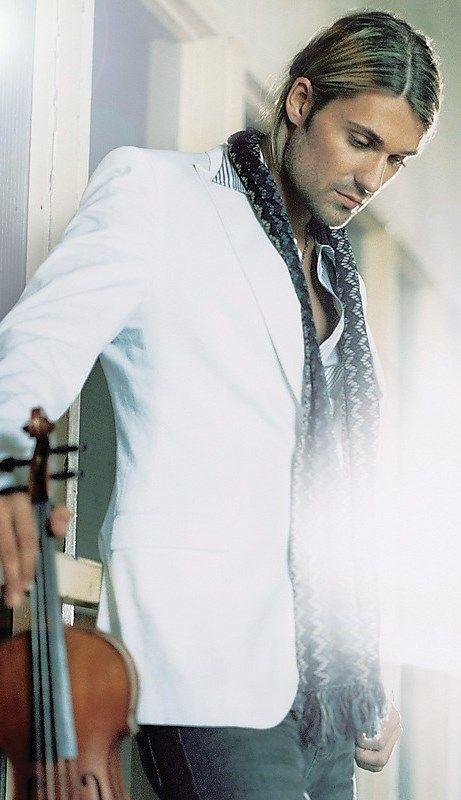David Garrett... He's like Kurt Cobain with a violin... Sign me up.