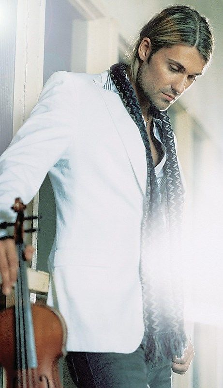 David Garrett... Totally amazing with a violin...fastest violin player in the WORLD!!!!! And TOTALY GOOD LOOKING!!!!
