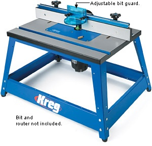 Kreg benchtop router table woodworking projects plans greentooth Choice Image