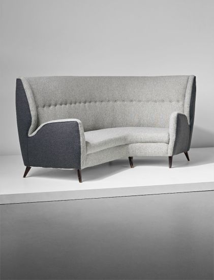 Design, Gio Ponti, Corner Sofa, 1945-1950. London Auction 28 April 2016