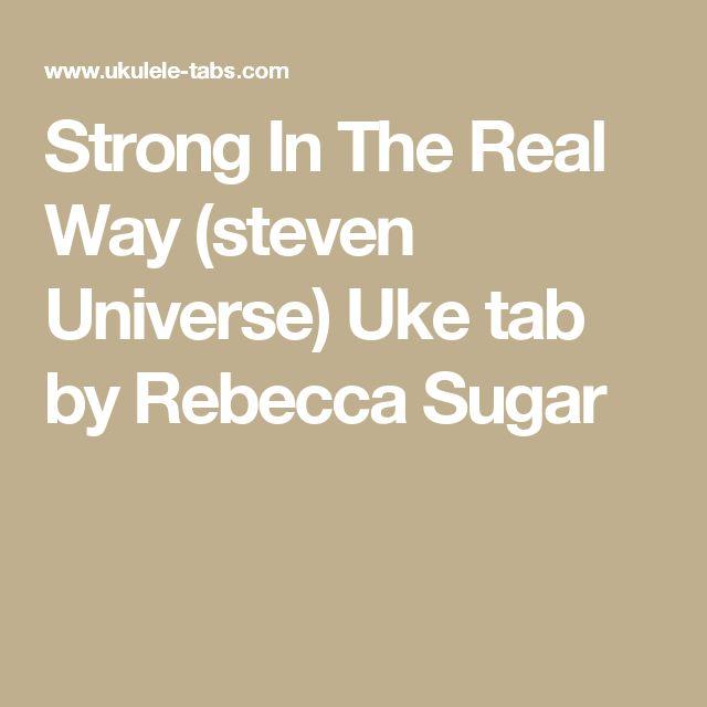 Best 20+ Steven Universe Ukulele ideas on Pinterest : Steven universe ukulele chords, All steven ...