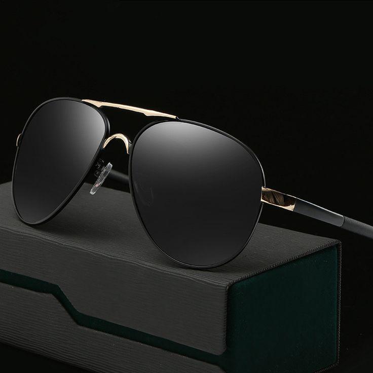 Classic Fashion Steampunk Goggles Polarized Sunglasses Oversized Men's Driving Glasses Outdoor UV400 Goggles Eyewear