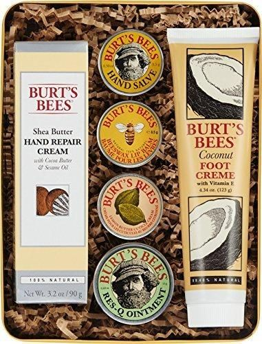Burt's Bees Classics Gift Set 6 Products in Giftable Tin