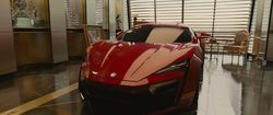 #FF7 #DominicToretto Lykan HyperSport - Furious 7
