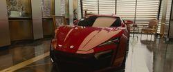 #FF7 #DominicToretto Lykan HyperSport - Furious 7