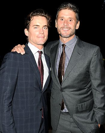 Matt Bomer, Partner Simon Halls Make Rare Public Appearance ...