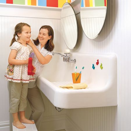 this kid safe bathroom design guide will help you to keep your children safe