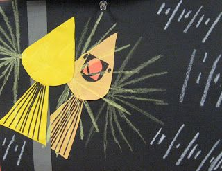 2nd grade art projects based on the work of Charley Harper - so great!
