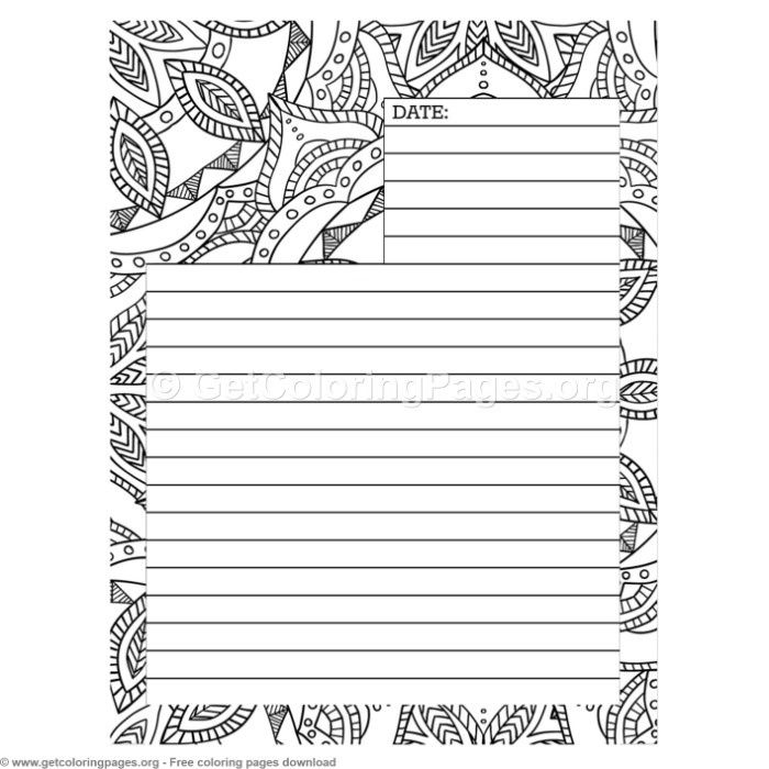 5 Journal Page Coloring Pages Getcoloringpages Org Coloring Coloringbook Coloringpages Coloringbooks Coloring Pages Color Journal Pages