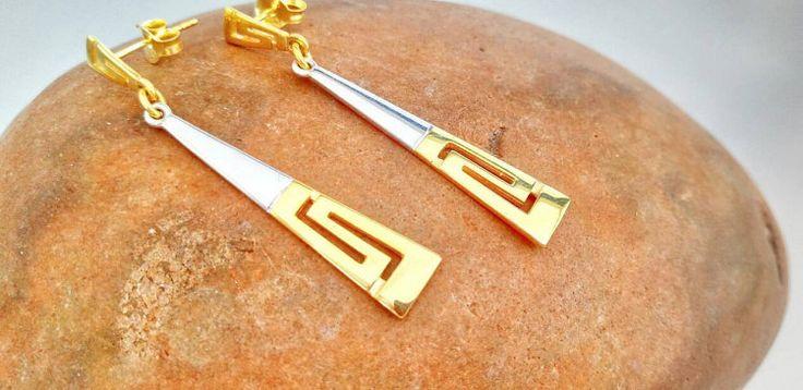 Greek Ancient Jewelry Meander Greek Key by ThetisTreasures on Etsy