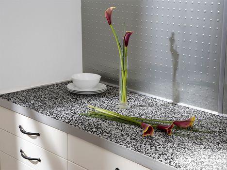 Küchen-Arbeitsplatte aus Rockies - Der Marmor aus der Tüte.