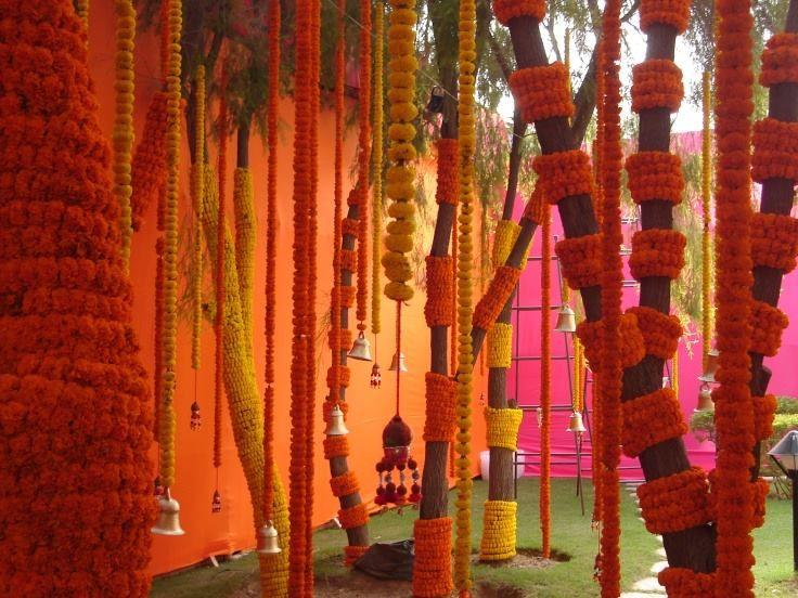 Indian Wedding Home Decoration Idea: 1000+ Ideas About Marigold Wedding On Pinterest