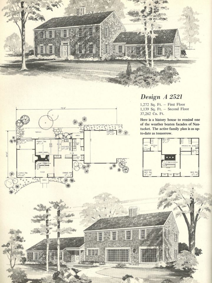 Colonial Historic House Plans House And Home Design