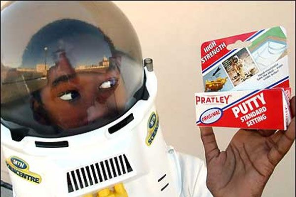 Pratley Putty, South African Invention, The Glue that went to the moon!