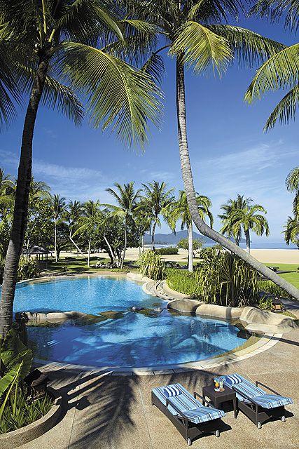 Garden Wing Swimming Pool  Shangri-La's Rasa Ria Resort, Kota Kinabalu