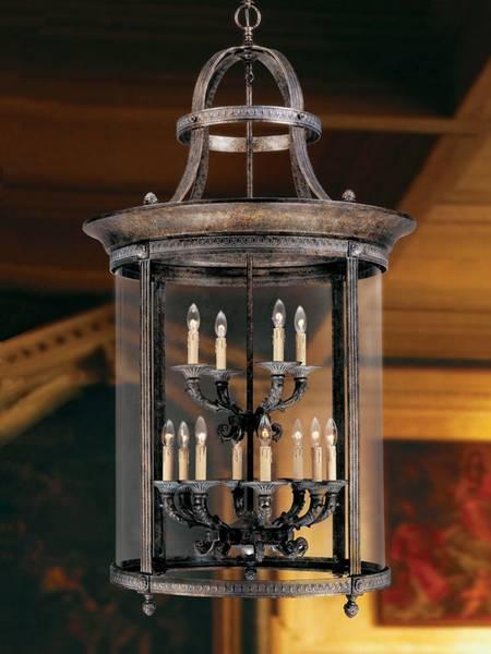 Modern Foyer Lantern : World imports light chatham foyer french