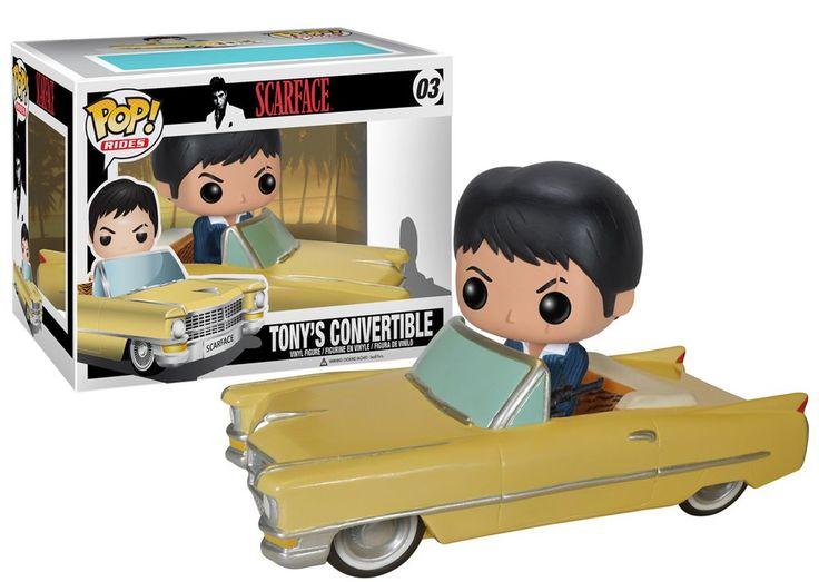 Pop! Movies: Scarface - Tony's Convertible